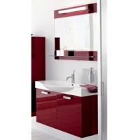 Комплект мебели 95см Arbi Modena, бордовый глянцевый
