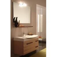 Комплект мебели 105см Edmo Onda, дуб, ручки Венге