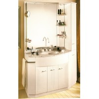 Комплект мебели 145см Labor Legno Paris 145 Белый