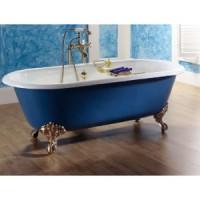 Чугунная ванна 170х78см Recor Dual с ножками Imperial