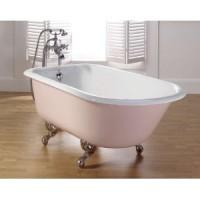 Чугунная ванна 170х78см Recor Roll Top с ножками Imperial