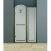 Дверь в нишу 100 см Cezares RETRO B-11-100-CP-Br-L(R)