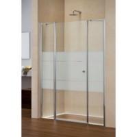 Дверь в нишу 1200мм Duka Multi-S 4000 GFTFN 1200 Матовое серебро/Сатинированное стекло
