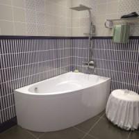 Ванна ассиметричная 140х90 Relisan Zoya 140