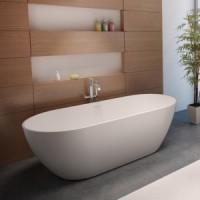 Ванна 150x75см овальная Riho Bilbao 150 BS12