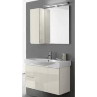 Комплект мебели 85см Arbi Rimini, белый глянцевый