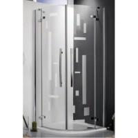 Душевой уголок 90х200cm Roltechnik ELEGANT LINE - 1500 GR2/900 CHROM