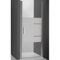 Душевая дверь в нишу 90х200cm Roltechnik TOWER LINE -700 TCN1/900 silver Intima 728-9000000-01-20