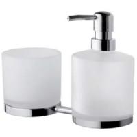 Дозатор для жидкого мыла и стакан AM.PM Serenity A40346900