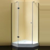 Душевой уголок 100x100x190 cm Sturm Star Chinchilla glass
