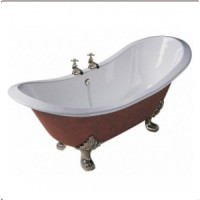 Ванна чугунная 180х77 Traditional Bathrooms Devon slipper BRT44/41