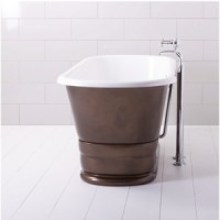 Ванна классическая 167х74.5 Traditional Bathrooms Geminus Plinth ALB.DE4PL