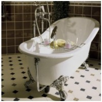Ванна чугунная 170х76.5 Traditional Bathrooms Hampshire slipper BRT05/08