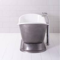 Ванна классическая 199 x 85.5 Traditional Bathrooms Imperium Plinth ALB.IMP4