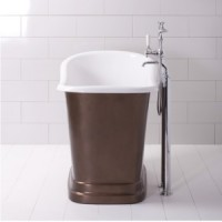 Ванна классическая 119.5х73 Traditional Bathrooms Tubby Torre ALB.TUBT