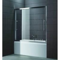 Шторка для ванны 150 см Cezares TRIO-V-22-150/145-С-Cr