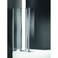 Шторка для ванны 90см Cezares  TRIO-V3-90/140-C-Cr