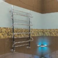 Полотенцесушитель водяной 500x800х650 Тера Сатурн ПСВ-70-01