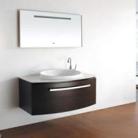 Комплект мебели для ванной 100см Timo Saimaa T-18029 чёрный дуб