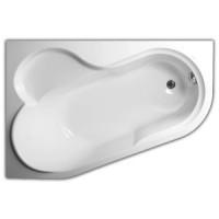 Ванна 147х100 ассиметричная Vagnerplast Selena 147 L VPBA141SEL3LE-01