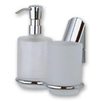 Дозатор для жидкого мыла со стаканом Vitra Apollon APO 008