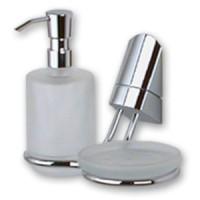 Дозатор для жидкого мыла с мыльницей Vitra Apollon APO 009