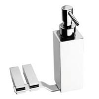 Дозатор для жидкого мыла настенный Webert Wolo WO500201015