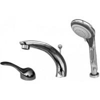 Смеситель на борт ванны или плиточный бортик на 3 отверстия RAV SLEZAK FRANCIS-VLTAVA V069.5S