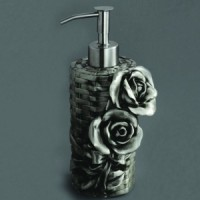 Дозатор Art & Max Rose AM-0091AT (серебро)