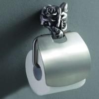 Бумагодержатель Art & Max Rose AM-0919T (серебро)