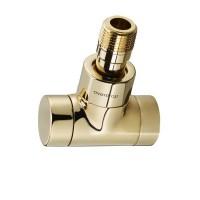 Вентиль угловой Oventrop Combi E 116 60 72 1166072 золото