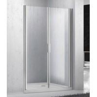 Душевая дверь в нишу двойная распашкая BelBagno Sela SELA-B-2-100-C-Cr