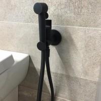 Гигиенический душ со смесителем FIMA Carlo Frattini COLLETTIVITA F2310NNS F2310/1NNS черный матовый