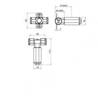 Скрытая часть Carlo Frattini F2645 для набора F2310/1N