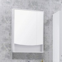 Зеркало-шкаф Акватон Инфинити 65 белое