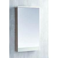 Зеркало-шкаф Акватон Эмма, Белый/Дуб Навара
