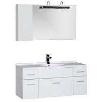 Мебель для ванной Aquanet Данте 110 R белый 1 навесной шкафчик 00164824
