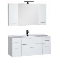 Мебель для ванной Aquanet Данте 110 белый (камерино 2 навесных шкафчика) 00164826