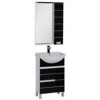 Мебель для ванной Aquanet Доминика 55 черный 00171326