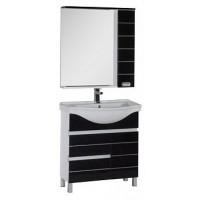 Мебель для ванной Aquanet Доминика 80 черный 00171329