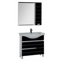 Мебель для ванной Aquanet Доминика 90 черный 00172406