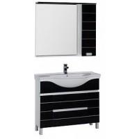 Мебель для ванной Aquanet Доминика 100 черный 00172410