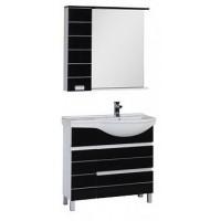 Мебель для ванной Aquanet Доминика 90 R черный 00176651