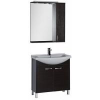 Мебель для ванной Aquanet Донна 80 венге 00168944