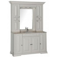 Мебель для ванной Aquanet Кастильо 140 слоновая кость 00182697 + 00183155