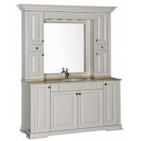 Мебель для ванной Aquanet Кастильо 160 слоновая кость 00183200 + 00183156