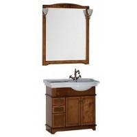 Мебель для ванной Aquanet Луис 90 R темный орех 00169333