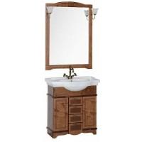 Мебель для ванной Aquanet Луис 80 темный орех 00173189