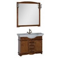 Мебель для ванной Aquanet Луис 110 темный орех 00173200