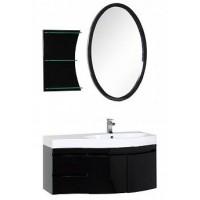 Мебель для ванной Aquanet Опера 115 R черный (2 дверцы 2 ящика) 00169419